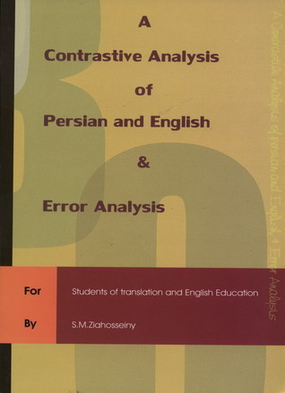 A Contrastive Analysis of Persian & English & Error Analysis