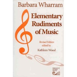 Elementary rudiments of music recommended for use in the study of 1211031 fandeluxe