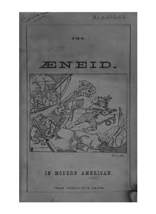A free and independent translation of the first and fourth books of the Aeneid of Virgil