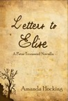 Letters to Elise: A Peter Townsend Novella (My Blood Approves, #4.5)