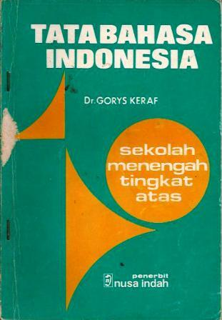 Tata Bahasa Indonesia by Gorys Keraf