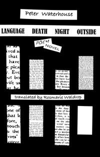 Language Death Night Outside by Peter Waterhouse