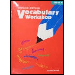 Vocabulary Workshop: Level G