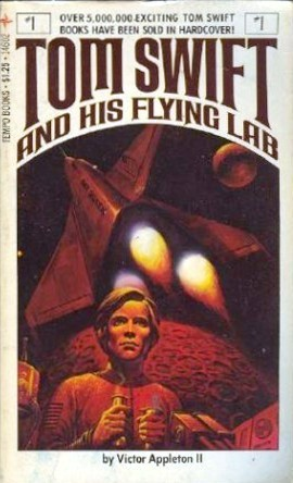 Tom Swift and His Flying Lab by Victor Appleton II