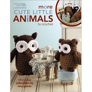 More Cute Little Animals To Crochet (Leisure Arts #5125) por Amy Gaines