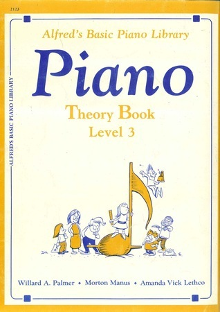 Alfred's Basic Piano Library: Piano Theory Book Level 3