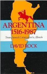 Argentina, 1516-1987 by David Rock