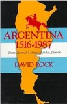 Argentina, 1516-1987: From Spanish Colonization to Alfonsín. (Updated)