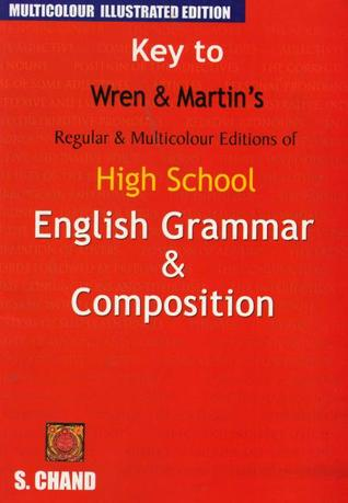 English Grammar And Composition By Wren And Martin Pdf