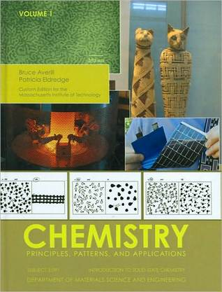 Introduction to Solid-State Chemistry: Department of Materials Science and Engineering-Chemistry: Principles, Patterns, and Applications
