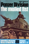 Panzer Division: The Mailed Fist (Ballantine's Illustrated History of World War II: Weapons Book No. 2)