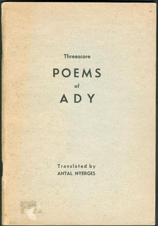Threescore Poems of Ady