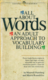 All About Words: An Adult Approach to Vocabulary Building