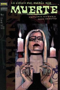 La chica que quería ser Muerte 1 de 2 (Colección Vertigo #105)