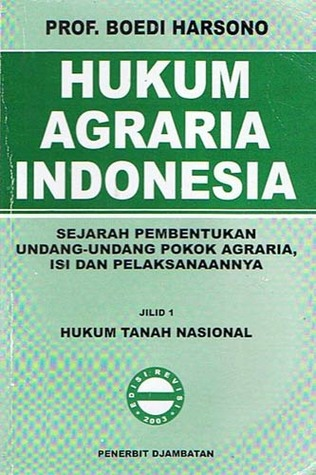 hukum agraria sejarah pembentukan undang undang pokok