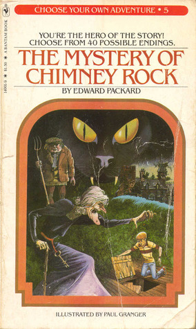 The Mystery Of Chimney Rock by Edward Packard