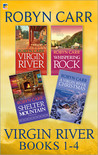 Virgin River Books 1-4 (Virgin River, #1-4)