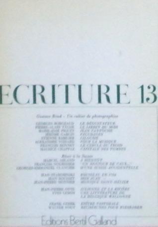 Ecriture 13