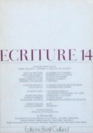 Ecriture 14
