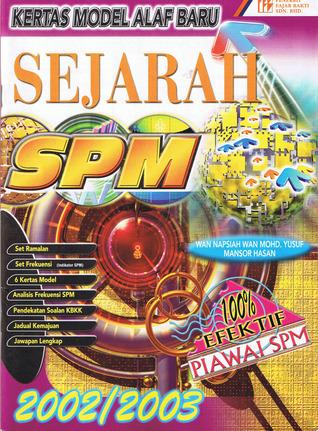 Kertas Model Alaf Baru: Sejarah SPM (2002/2003)