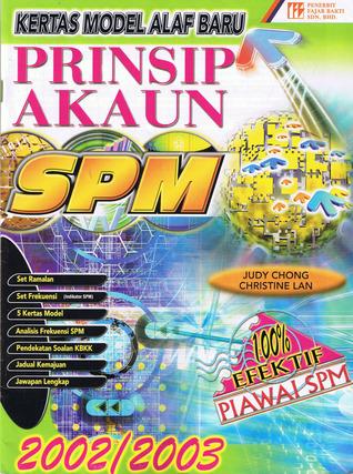Kertas Model Alaf Baru: Prinsip Akaun SPM (2002/2003)