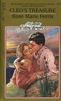 Cleo's Treasure (Candlelight Ecstasy Romance, #514)