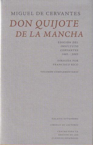 Don Quijote de La Mancha. Volumen complementario