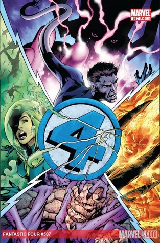 Fantastic Four #587 by Jonathan Hickman