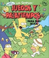 Los Simpson: Juegos y pasatiempos para dias de sol