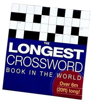 The Longest Crossword Book in the World (Concertina Books)