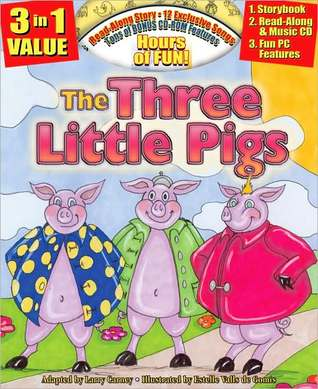 The Three Little Pigs All-in-one Classic Read Along Book / CD