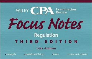Wiley CPA Examination Review Focus Notes, Regulation