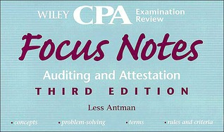 Wiley CPA Examination Review Focus Notes, Auditing and Attestation