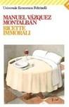 Ricette immorali by Manuel Vázquez Montalbán