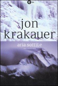 Aria sottile by Jon Krakauer