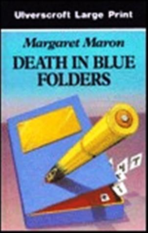 Death in Blue Folders (Sigrid Harald Mystery #3)