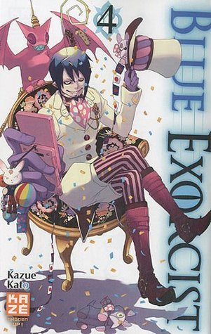 Blue exorcist, Tome 4