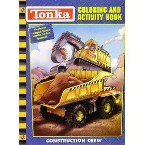 Tonka Truck Construction Crew Coloring Activity Book
