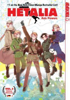 Hetalia: Axis Powers, Vol. 3 (Hetalia: Axis Powers, #3)