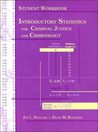 Introductory Statistics for Criminal Justice and Criminology - Student Workbook