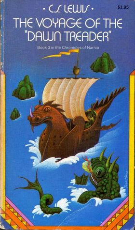 "The Voyage Of The ""Dawn Treader"" - Book 3 in the Chronicles of Narnia (Chronicles of Narnia, #3)"