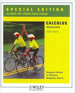 Calculus: Multivariable - Special Edition for Math 292, Diablo Valley College