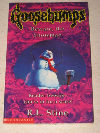 goosebumps beware the snowman