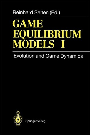 Game Equilibrium Models I: Evolution and Game Dynamics