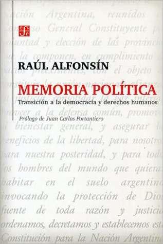 Memoria política: Transición a la democracia y derechos humanos