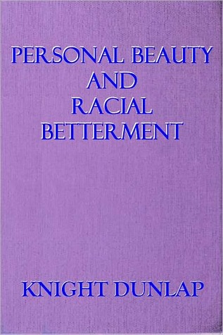 Personal beauty and racial betterment