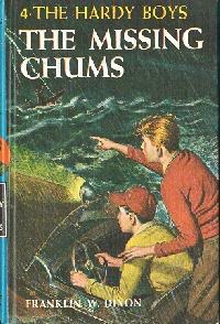The Missing Chums (Hardy Boys, #4)