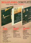 Billy Joel Complete. Volume 3. piano / vocal / chords