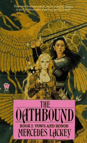 book cover: The Oathbound by Mercedes Lackey (Vows & Honor #1)