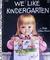We Like Kindergarten by Clara Cassidy